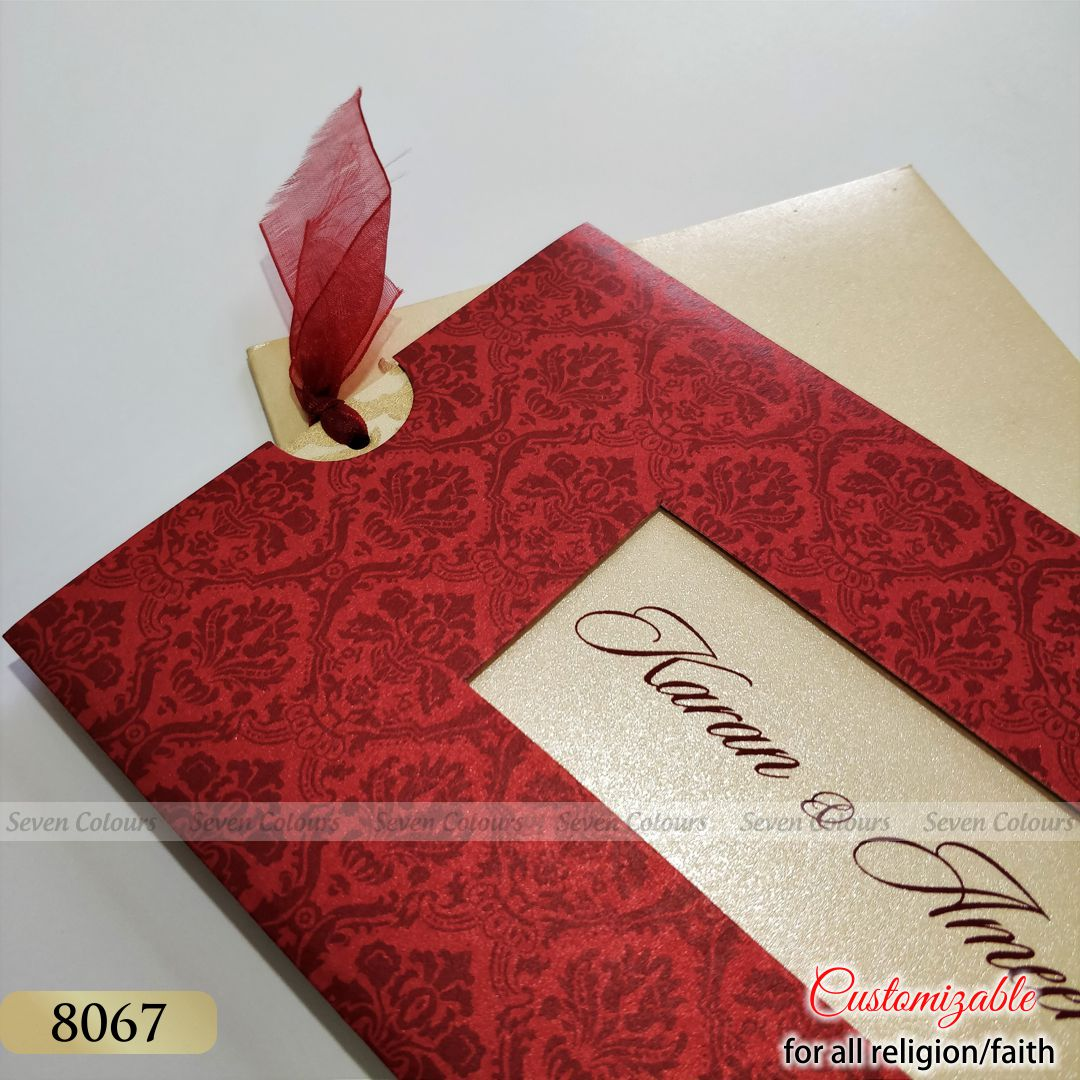 SC-08067 - Indian Wedding Cards by Seven Colours