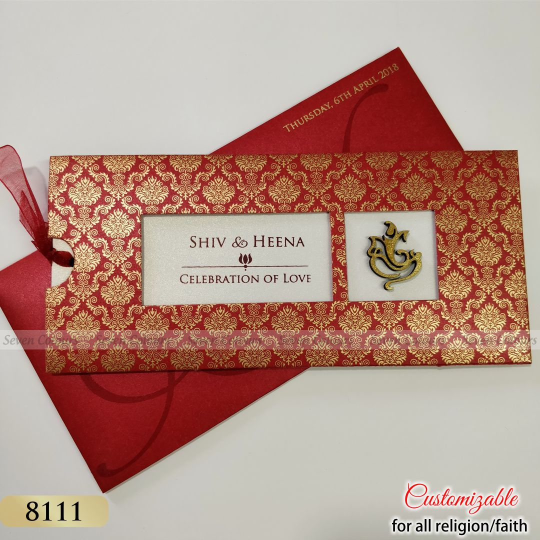 Indian Wedding Cards - Buy Designer Marriage Invitation Cards Online