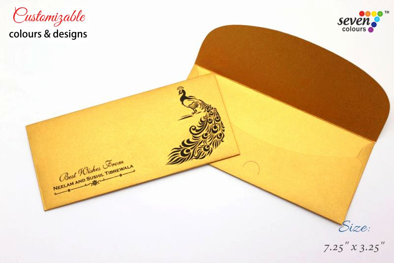 Standard Monetary Wedding Gift: Indian Wedding Cards By Seven Colours