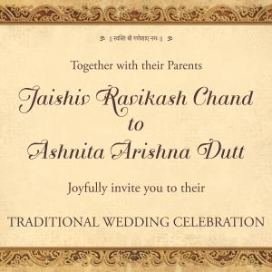 Whatsapp video card for Indian Hindu Wedding
