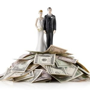 wedding budget and expenses planning